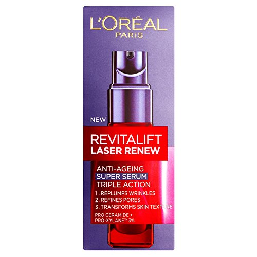 Anti Ageing Gift (L'Oreal New Revitalift Laser Renew Anti-Ageing Super Serum, 1 Ounce)