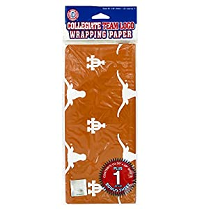StealStreet SS-KI-HB172 University of Texas at Austin Gift Wrap