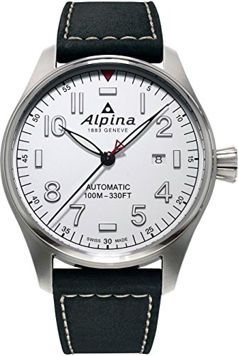 Alpina Geneve Startimer Pilot AL-525S4S6 Mens Wristwatch Aviation Watch