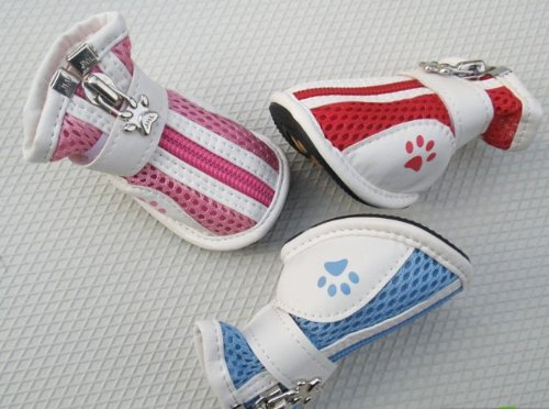 Schattige Blauwe Huisdieren Schoenen Sneakers Voor Honden Kleding & Kleding-maat 2