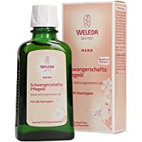 Weleda Pregnancy Body Oil for Stretch Marks, 3.4-Ounce