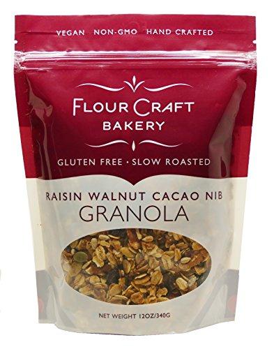 Flour Craft Bakery Raisin Walnut Granola, 12 ()