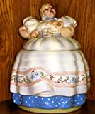 ANTIQUE ORIGINAL HELEN HUTULA TAT-L-TALE COOKIE JAR / EARLY HELEN JAR