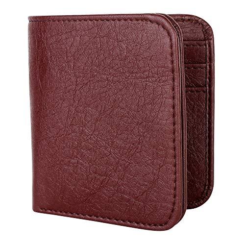 ZORO Brown Leather Men's Card Holder (ZR-ALW-121T)