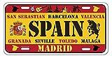 Dimension 9 Home Decorative Plates, Spain