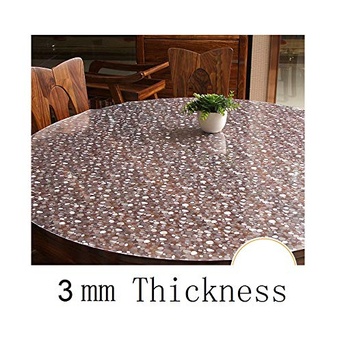 COOCOl Great Mantel Plastico Tablecloth Round Tapete Round Cover Nappe Tablecloth Table Cloth,Number 17,100X100Cm