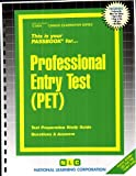 Professional Entry Test (PET), Jack Rudman, 0837334047