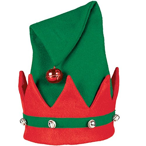 Elf Felt Hat with Bells | Christmas Gift Ideas and Accessory]()