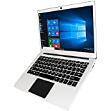 "Jumper Ezbook 3 Pro 13.3"" Windows10 Home Ultrabook Intel Apollo Lake N3450 Laptop 6GB ROM 64GB RAM Laptop with Dual USB 2.0MP Camera HD Wifi SATA SSD Slot Notebook 9600mAh Battery PC"