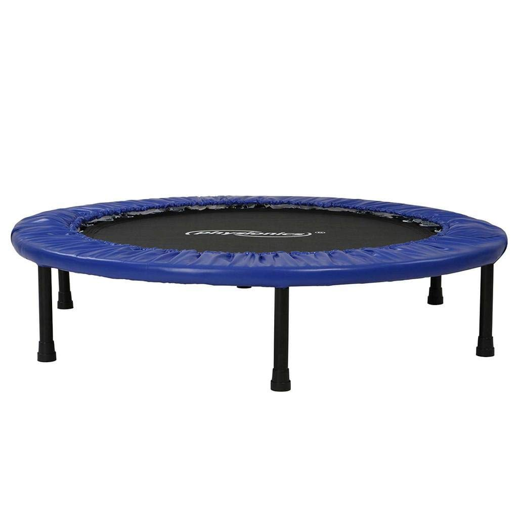 Trampoline de Fitness Trampoline int/érieur et de Jardin id/éal pour Les Enfants et Les Adultes Mini-Trampoline Poids Maximum: 100 kg Taille au Choix