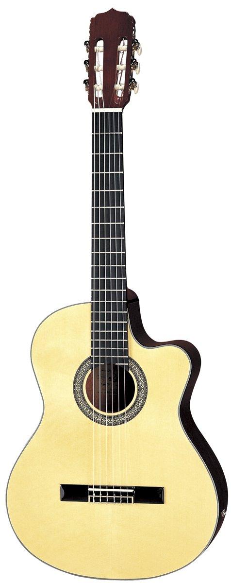 Aria AK-30CE Guitarra Electroacústica clásica tamaño completo: Amazon.es: Instrumentos musicales