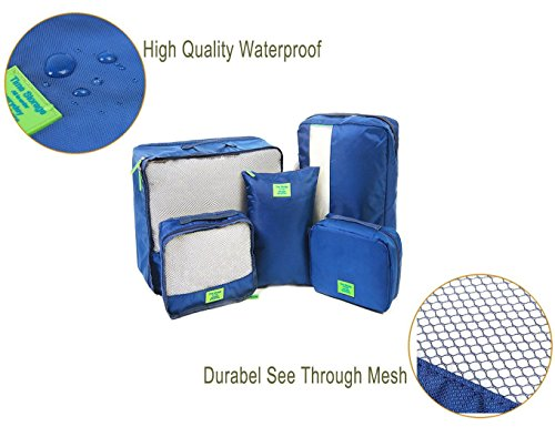 Packing Cubes for Travel Luggage Organizers Set Space