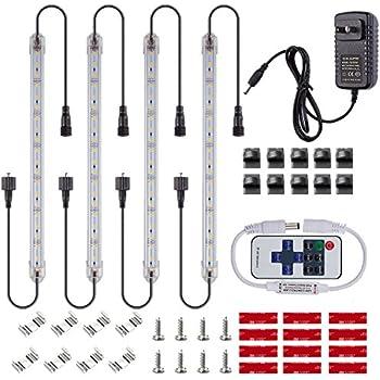 Lovely NEWCITY LED Under Cabinet Lighting Kit: 4pcs Extendable Under Counter LED  Light Bars (6500K