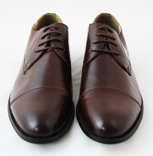 b3b933392535a free shipping Men's Oxford Dress Shoes by Majestic . Brown - vergeup.com