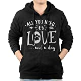 All You Need Love And A Dog Sweater Shirt Zipper Jacket Sun Hoody