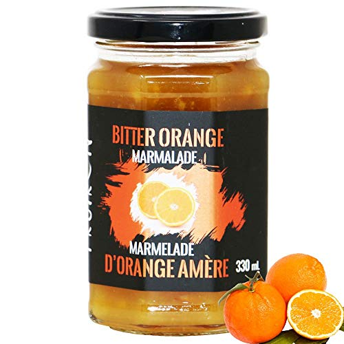 Fruiron All-Natural Bitter Orange Marmalade, 330g (11.64oz) | Imported from France, Made From Real Seville Oranges, No Artificial Flavours or Colouring