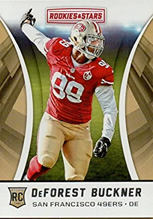 c24ea58851b Football NFL 2016 Rookies and Stars Rookies One Star  162 DeForest Buckner  49ers
