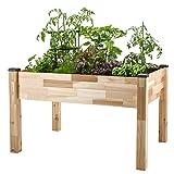 CedarCraft Elevated Garden Planter (34'' X 49'' X 30'')