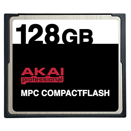 128GB Akai MPC CompactFlash CF Memory Card for MPC500, MP...