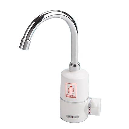 Grifo para agua caliente instantánea, calentador Dual agua caliente y fría eléctrica eléctrica grifo cocina