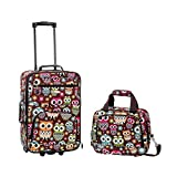 Rockland 2 PC OWL LUGGAGE SET