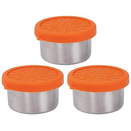 1e1eb66c96f5 Amazon.com: kilofly 3-Piece BPA Free Leak Proof Reusable Round Eco ...