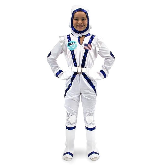 Amazon.com: Deluxe – Disfraz de astronauta de la NASA ...