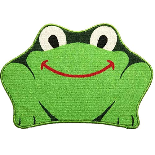 Wuudi Cartoon Frog 4565 cm Carpet Water Absorption Non-slip Bedroom Bathroom Door Mat