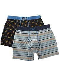 Saxx Underwear Men's Ultra 2-Pack Gone Fishing Large