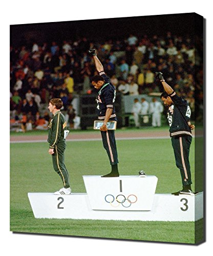 Tommie Smith and John Carlos - Canvas Art Print