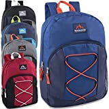 17 Inch Bungee Backpack - 5 Colors Case Pack 24