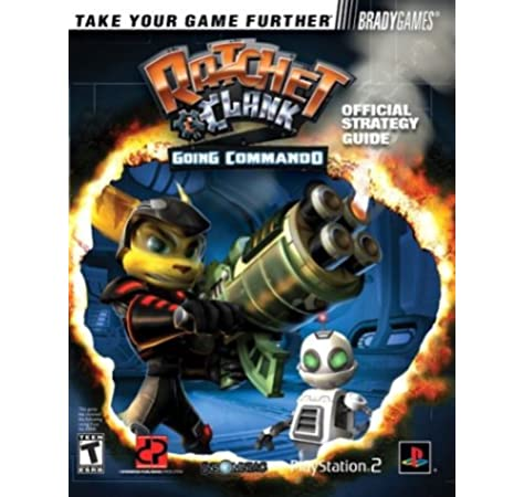 Ratchet Clank Tm Going Commando Official Strategy Guide Off