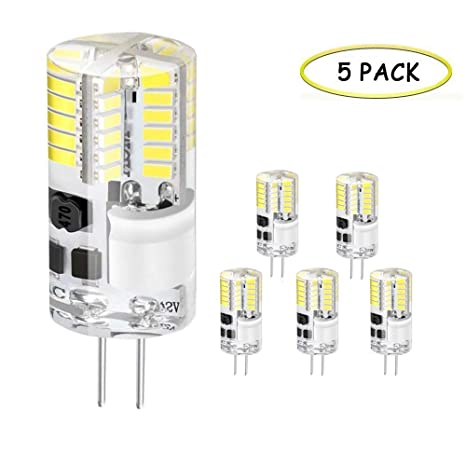 G4 bombillas LED, 3W 48 x 3014 SMD LED lámparas, 300LM ...