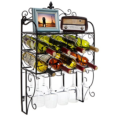 Grandeur Mounted Stemware Display Organizer
