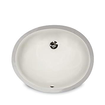 Nantucket Sinks UM 13x10 B 13 Inch By 10 Inch Oval Ceramic