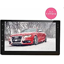EinCar Android 5.1.1 Lollipop Quad Core 2 Din Car Stereo 7'' Capacitive Touch Screen GPS Navigation AM FM Radio Audio Receiver Support Mirrorlink/WiFi/Bluetooth
