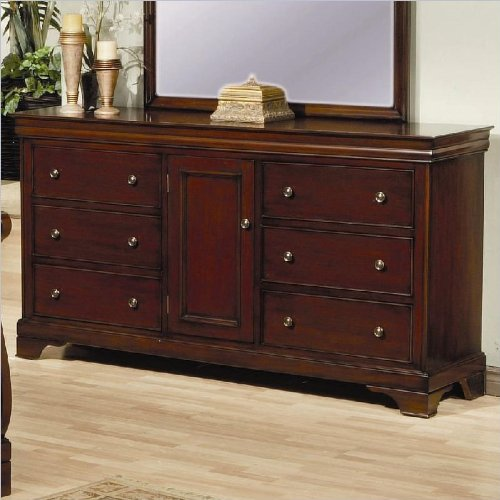 Coaster Home Furnishings 201483 Traditional Dresser, Mahogany