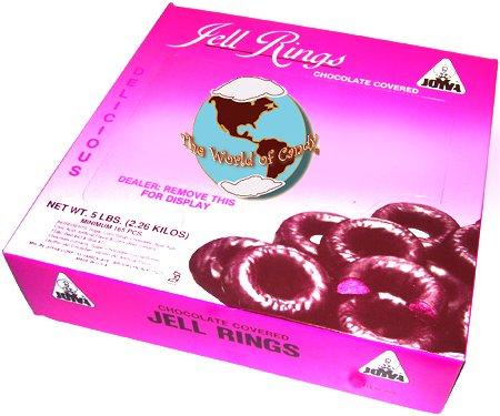 Joyva Raspberry Jelly Rings
