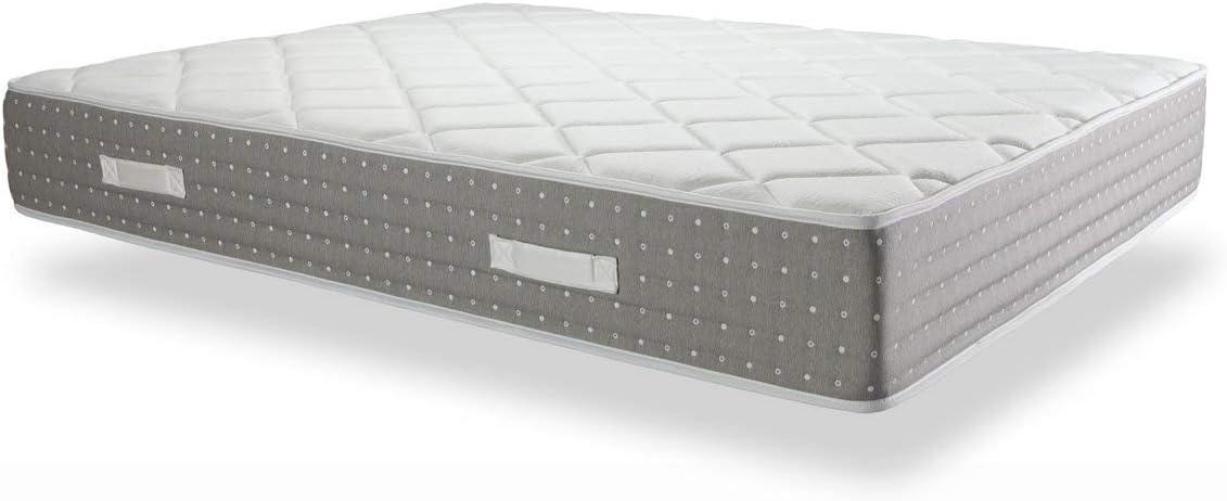 DORMIDEO Pocket Gel - Colchón de Muelles Ensacados - PocketSac con firmeza progresiva e Individual 80x180