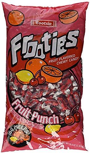 Frooties 360 Piece Bag Fruit Punch (2 Bags)
