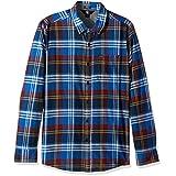 Volcom Men's Caden Long Sleeve Flannel, Trb, M