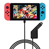 Smatree 39W15V/2.6A Rapid Car Charger for Nintendo Switch, High Speed Play and Charge Kit