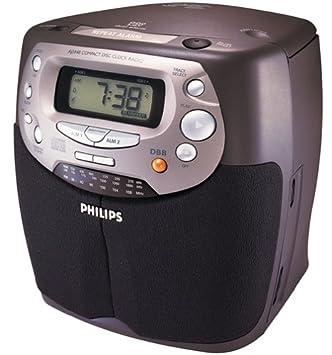 Philips AJ3940 - Radio Despertador para CD (desactivado por el Fabricante): Amazon.es: Electrónica