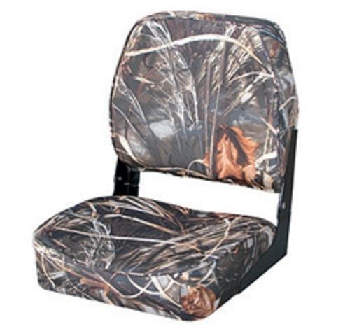 Max Advantage 4 Camouflage - Wise Hunting/Fishing Fold-Down Seat (Advantage, MAX-4 Camo)