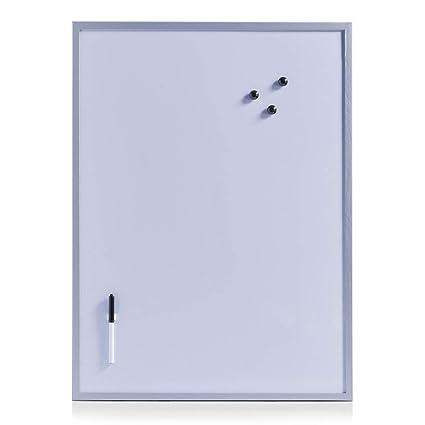 Zeller 11510 - Pizarra magnética, 20 x 60 cm, color alu-gris ...