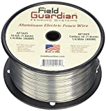 Field Guardian 16-Guage Aluminum Wire, 1/4 Miles