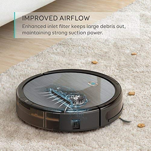 eufy [BoostIQ] RoboVac 11+ (2nd Gen: Upgraded Bumper and Suction Inlet) High Suction, Self-Charging Robotic Vacuum Cleaner, Filter for Pet Fur, Cleans Hard Floors to Medium-Pile Carpets