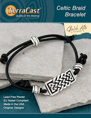 TierraCast Celtic Braid Bracelet Jewelry Kit ()