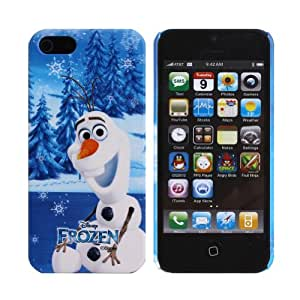 Disney Frozen Castle Snap on Hard Case Cover for Apple iPhone 5 5S (Olaf)