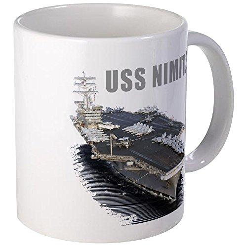 CafePress - USS NIMITZ - Unique Coffee Mug, 11oz Coffee Cup (Uss Nimitz Coffee Cup compare prices)